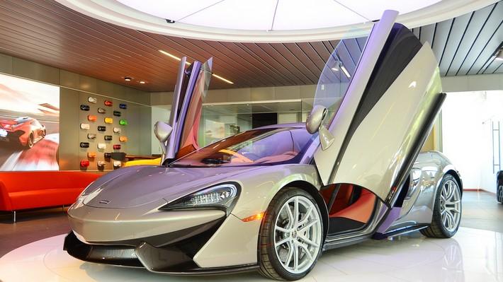 Conoce el McLaren 570S Coupé en el que Marcelo