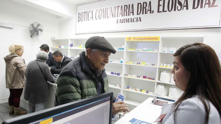 Farmacias comunales: Detectan diferencias en el precio de medicamentos que llegan hasta 1.500%