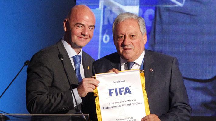 Presidente de la FIFA ratifica que Sudamérica tendrá seis cupos y medio para el Mundial 2026