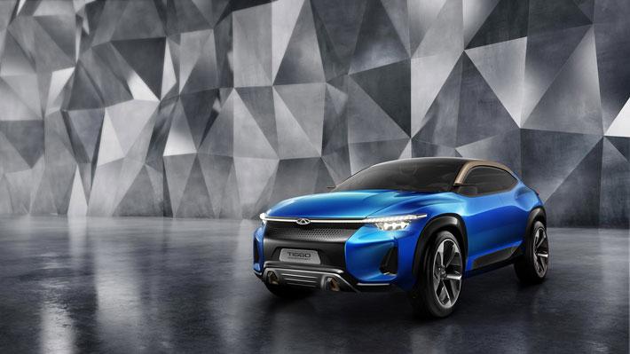 Con este SUV Chery adelanta su visión del futuro