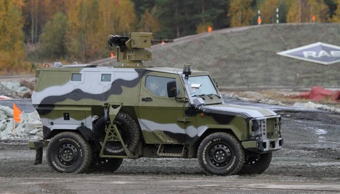 Este es el nuevo todoterreno blindado ruso Skorpion