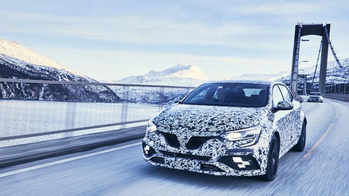 Renault libera nuevas imágenes y datos del Mégane RS 2018