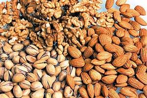los frutos secos suben el colesterol