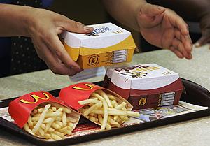 Calorias hamburguesa del mcdonalds