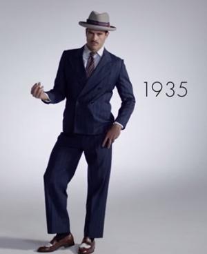 86a8463cf0 Video repasa años de la moda masculina en minutos jpg 300x368 Moda hombres años  50