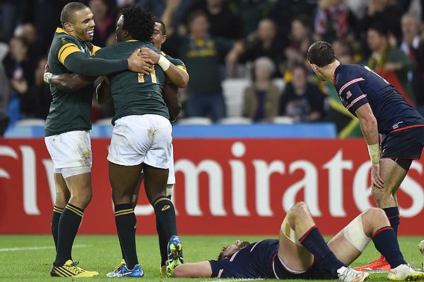 Sudáfrica clasifica a cuartos del Mundial de Rugby tras ...