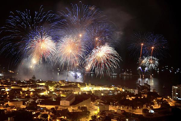 Show De Fuegos Artificiales De Valparaiso Tiene Un Costo Cercano A