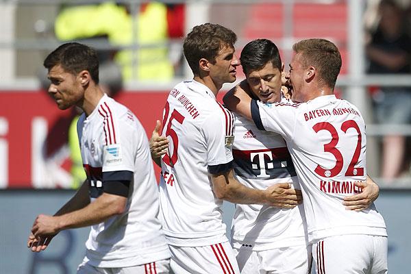e88a4050d5 Sin Arturo Vidal, el Bayern Munich hace historia al ganar cuatro títulos  consecutivos en la Bundesliga