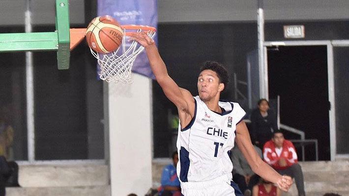 """El ambicioso anhelo de uno de los campeones del Sudamericano Sub 17 de básquetbol: """"Mi objetivo es llegar a la NBA"""""""