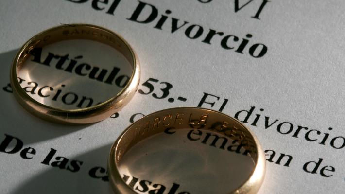 Explosivo aumento en Chile de divorcios en matrimonios que duran cinco años o menos