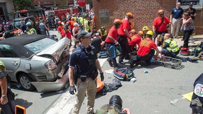 Los hechos que desencadenaron el atropello masivo contra manifestantes en EE.UU.