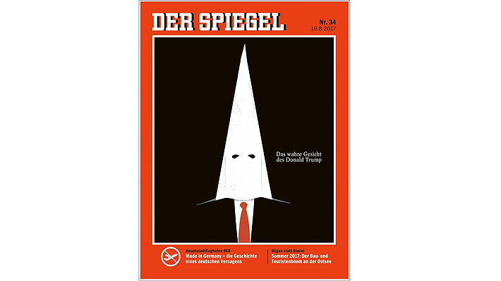 Las polémicas portadas que vinculan a Donald Trump con el Ku Klux Klan