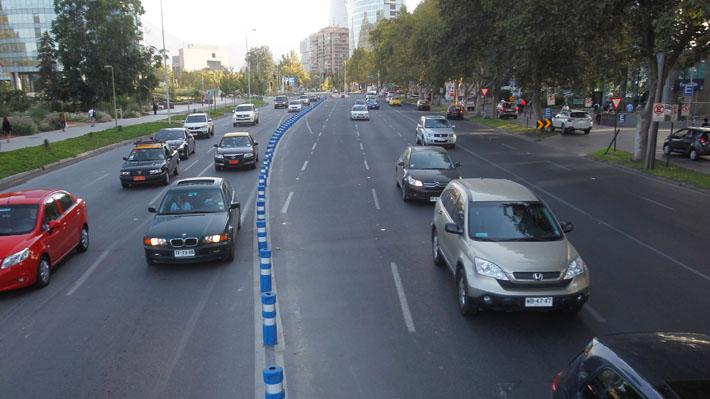 Providencia pedirá el término de la reversibilidad del tránsito en avenida Andrés Bello