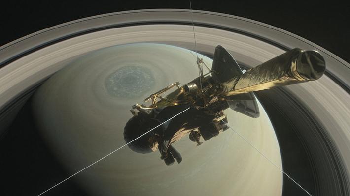 NASA informa que la sonda Cassini se desintegró en la atmósfera de Saturno