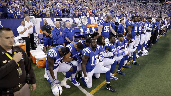 Jugadores de la NFL se suman a críticas de LeBron James y desafían a Trump con protestas en los partidos