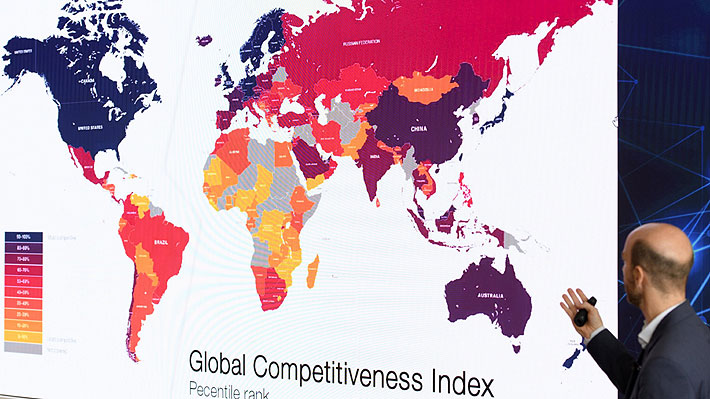 Informe de Competitividad Global: Chile mantiene su posición y se ubica en el primer lugar de Latinoamérica