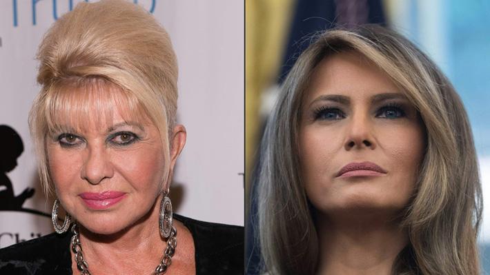 ¿Quién es la Primera Dama de EE.UU.? La polémica que enfrenta a Melania y a Ivana Trump