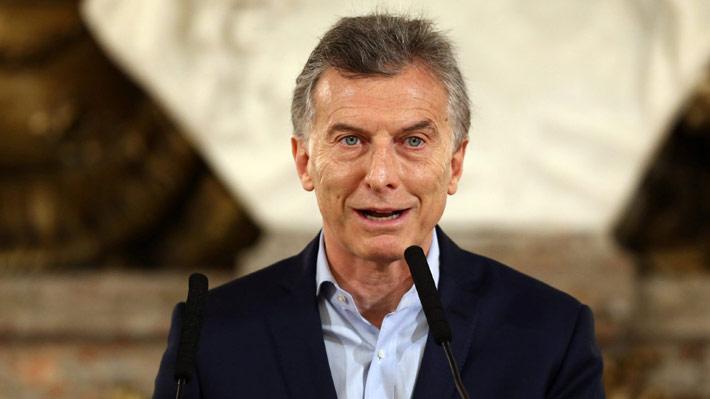 """Macri tras victoria de su coalición en elecciones legislativas: """"Ganó el diálogo (...) espero que lleve a un alivio"""""""