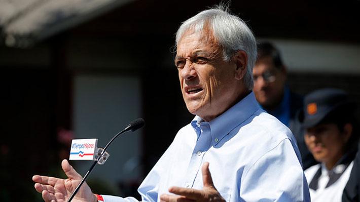 Programa de Piñera incluye reducción de parlamentarios y cambios al Tribunal Constitucional