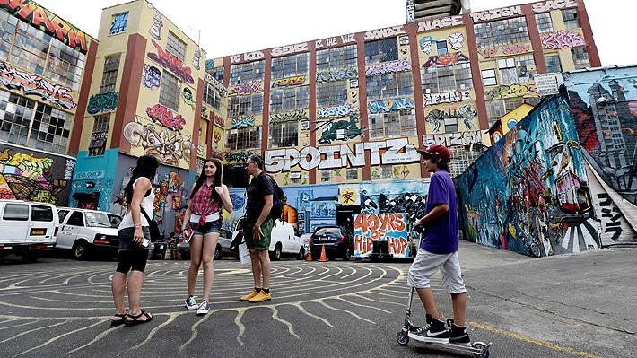 ¿Son los grafitis obras de arte que hay que proteger por ley? Tribunal de Nueva York deberá resolverlo