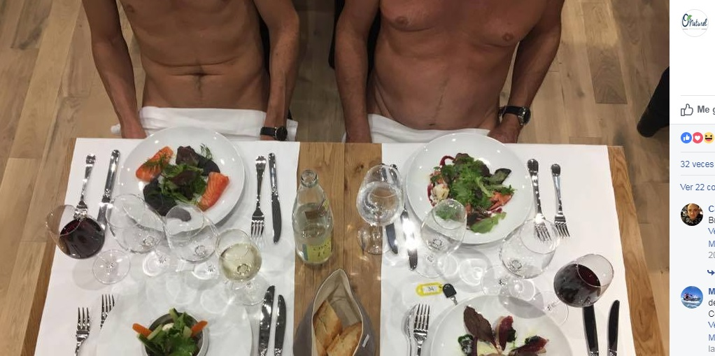 El éxito de los restaurantes nudistas que están revolucionando Europa