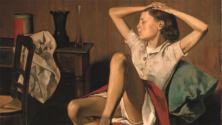 """Polémica en el Met de Nueva York por pintura de una niña en actitud sugerente: """"Es pertubador que sexualicen la infancia"""""""