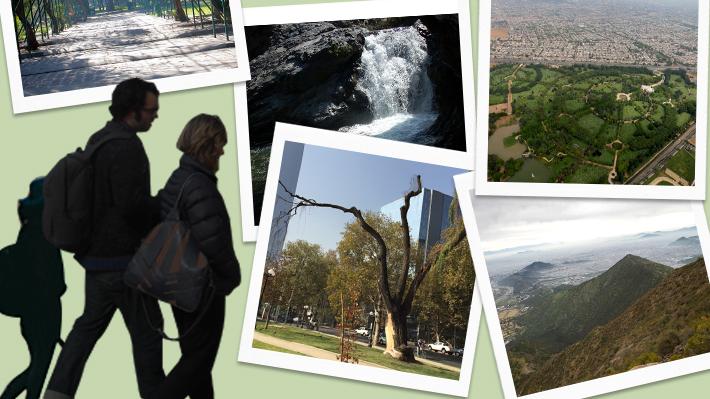 Los siete rincones verdes de Santiago para conectar con la naturaleza en medio de la jungla de cemento