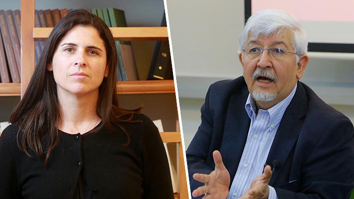 Osvaldo Rosales y Sylvia Eyzaguirre, los grandes derrotados del debate presidencial