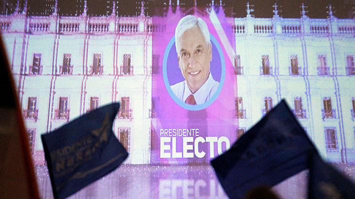 Sebastián Piñera se convierte en el Presidente electo con mayor cantidad de votos desde 1993