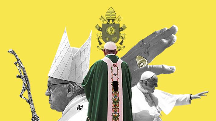 El anillo, la cruz y el báculo: ¿Qué simbolizan y cuál es la historia  detrás de los elementos que usa el Papa Francisco? | Emol.com