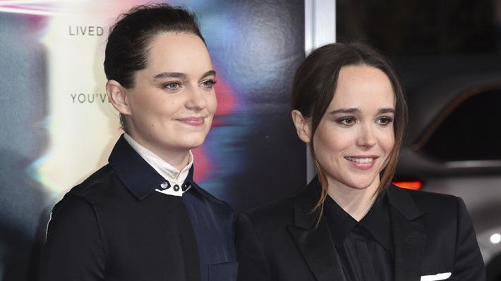 321f8ff67 Lo anunció a través de sus redes sociales  Ellen Page se casó con bailarina  profesional