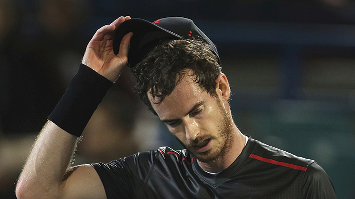 Andy Murray se opera por lesión en la cadera y estará seis meses fuera de las canchas
