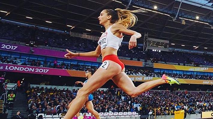 """Cómo Isidora Jiménez, la """"reina del atletismo chileno"""", sumó otro récord y clasificó al Mundial en una nueva disciplina"""