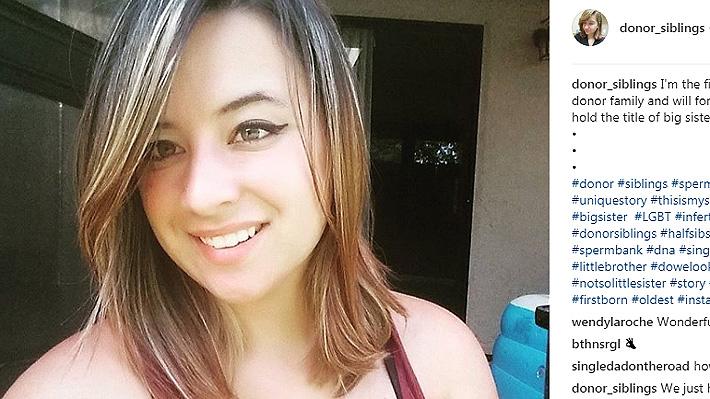 Mujer nació de una donación de esperma y quiso buscar a sus hermanos: Ya ha encontrado a 40