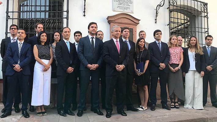 Estos son los 16 profesionales que asesorarán a Felipe Larraín en el Ministerio de Hacienda