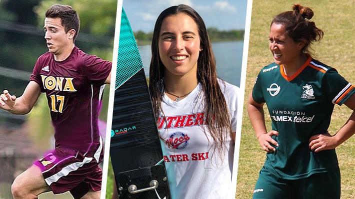 Entre la carrera universitaria y el deporte: Jóvenes que estudian en el extranjero con una beca deportiva