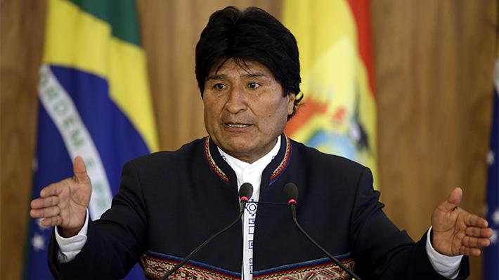 """Morales defiende gobierno de Venezuela y asegura que EE.UU. es una """"verdadera amenaza para el mundo"""""""