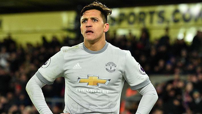 Ocho partidos y un solo gol: El pobre registro de Alexis en el United que lo tiene en el centro de las críticas