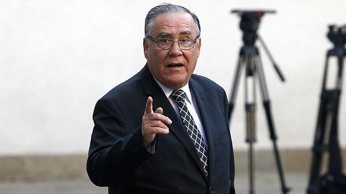 """Ministro Campos admite cambio de última hora para designar a Luis Toledo como notario: """"Retiré el nombre (de Ortega) y eso es problema mío"""""""