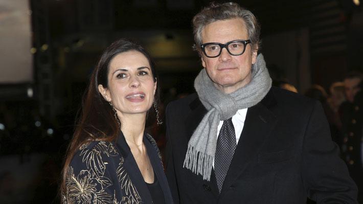 Esposa de Colin Firth admite que tuvo un amorío con su presunto acosador durante un quiebre en su matrimonio