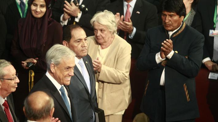 """Evo Morales tras asistir al cambio de mando: """"Nunca ha sido mi intención ofender"""" al pueblo chileno"""