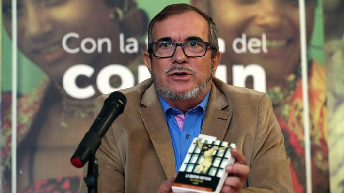 Líder de las FARC recibe el alta médica tras una cirugía de corazón