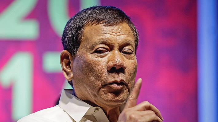Duterte retira a Filipinas de la Corte Penal Internacional por investigación en su contra