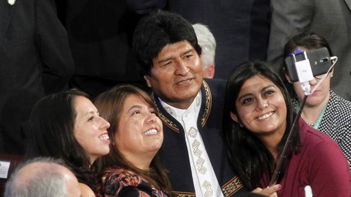 """Diputada del FA explica selfie con Evo pese a sus dichos machistas: """"Podemos admirar el trabajo en su globalidad"""""""