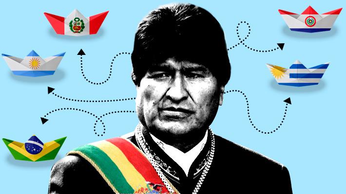 Otras salidas para Bolivia: Los acuerdos con 5 países que le han permitido acceder al mar sin soberanía