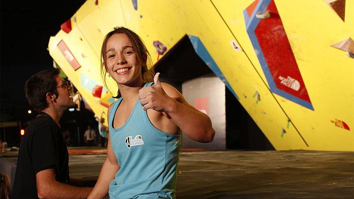 """La sorprendente argentina de 16 años que fue """"borrada"""" en pleno Mundial de escalada por su inesperado nivel"""