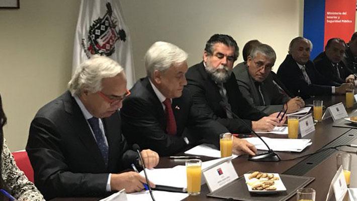 """Piñera anuncia """"reformulación"""" de la Ley Antiterrorista: Se incluirán agentes encubiertos y tipifica el ataque cibernético"""