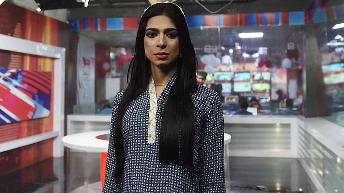 Marvia Malik, la primera mujer transgénero presentadora de noticias en Pakistán