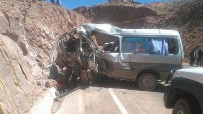 Dos accidentes de tránsito dejan 18 muertos en Bolivia