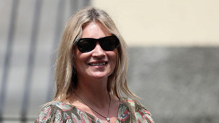 """Kate Moss ya está en Chile: """"Me han dicho que es un país muy bello y tengo muchas ganas de conocerlo"""""""